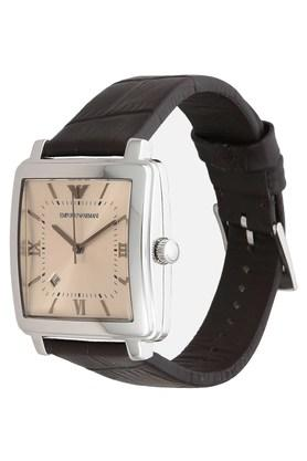 Mens Analogue Leather Watch - AR11098I
