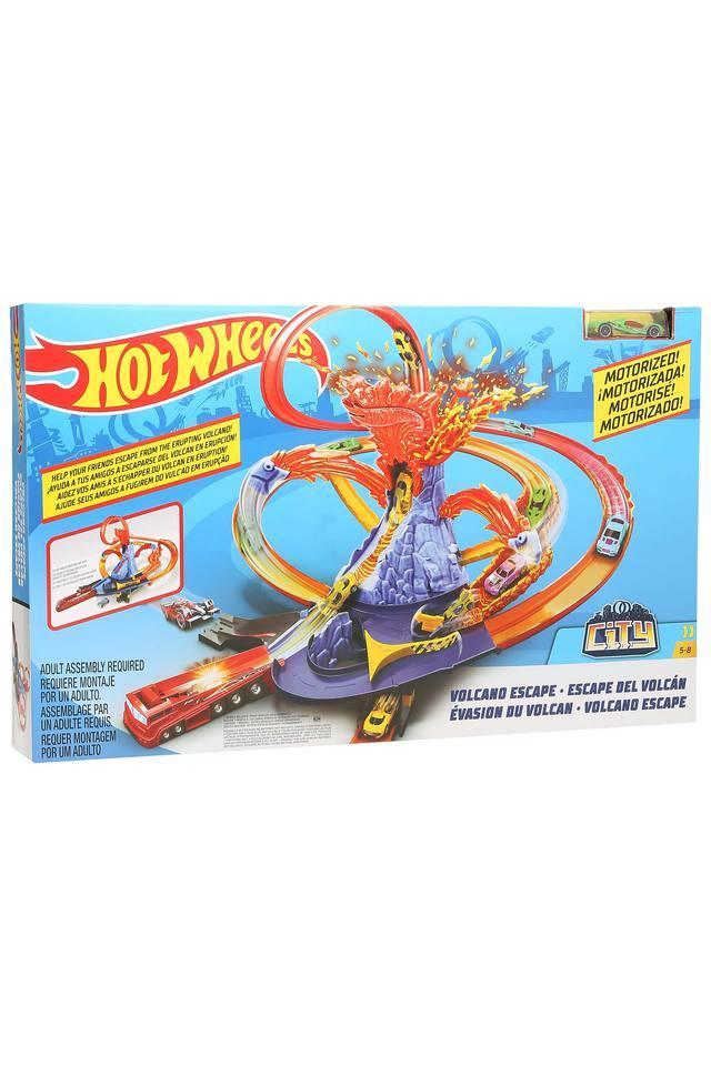 Kids Volcano Escape Car and Track Set