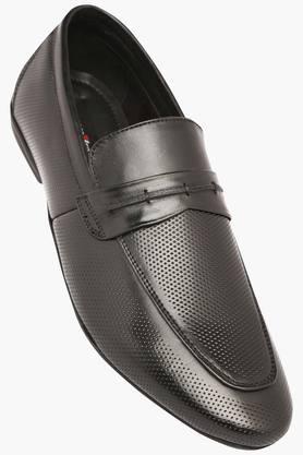 VETTORIO FRATINIMens Leather Slipon Loafers - 202801950