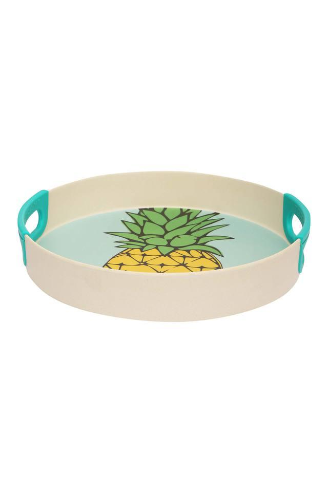 Pineapple Silicone Round Tray