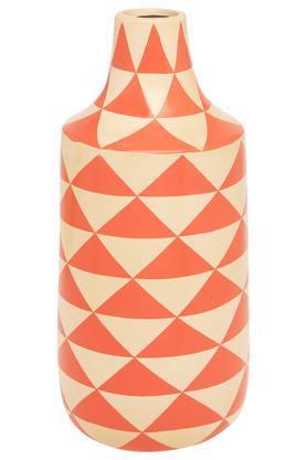 IVYPyramid Printed Ceramic Vase