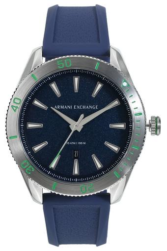 Mens Blue Dial Analogue Watch - AX1827I