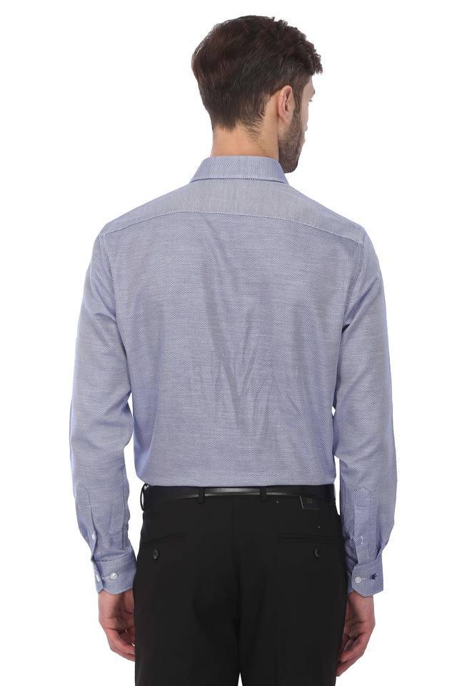 Mens Textured Formal Shirt