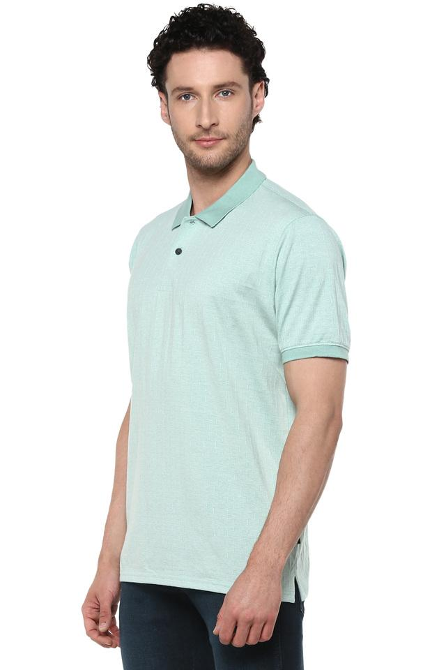 Mens Printed Polo T-Shirt