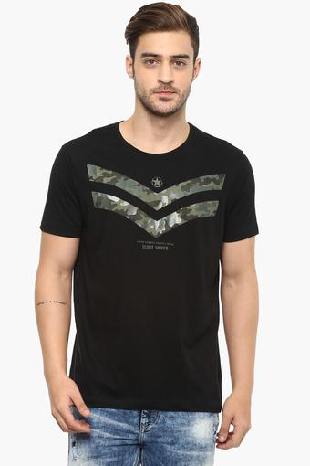 2e84fbac2 Buy SPYKAR Mens Round Neck Printed T-Shirt | Shoppers Stop