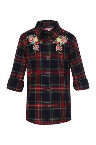 Girls Embroidered Shirt