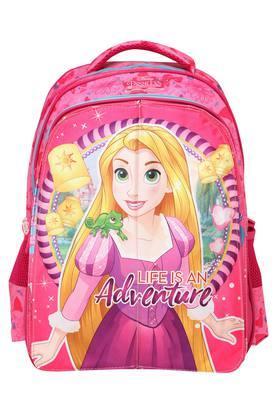 Girls Disney Pink Flap School Bag