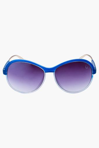 Womens Oversized UV Protected Lens Sunglasses - 1801BLUE
