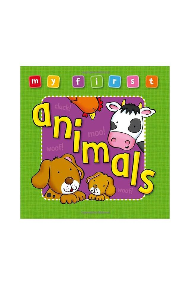 My First: Animals (My First Bumper Deluxe)