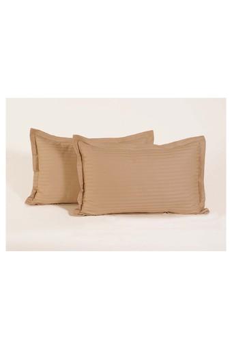 SWAYAM -  BeigePillow & Cushion Covers - Main
