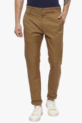 LEVIS Mens Slim Tapered Fit 4 Pocket Solid Chinos (512)