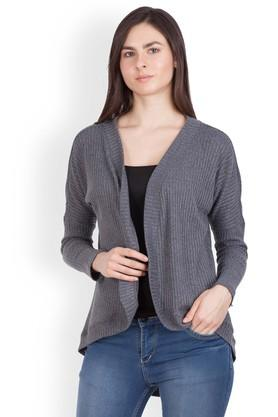 ZINK LONDON Womens Open Front Knitted Shrug