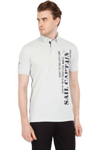 987f1e7a3 Buy LEE COOPER Mens Printed Polo T-Shirt   Shoppers Stop