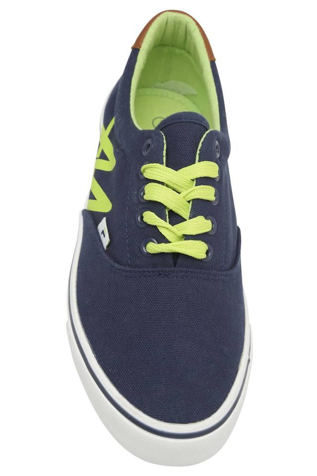 Mens Canvas Lace Up Sneakers