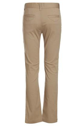 Boys 5 Pocket Solid Pants