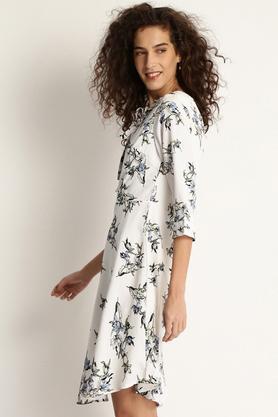 Womens Printed A-Line Dress