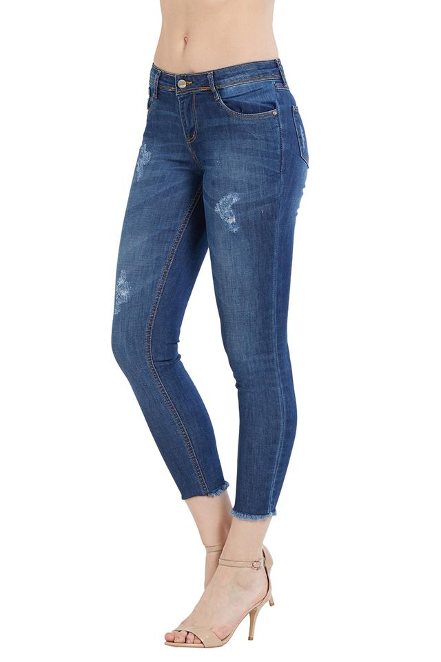 Womens Mild Wash Jeans