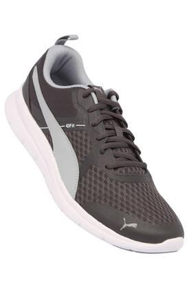 PUMA Mens Mesh Lace Up Sports Shoes