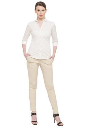 Womens Printed Formal Shirt