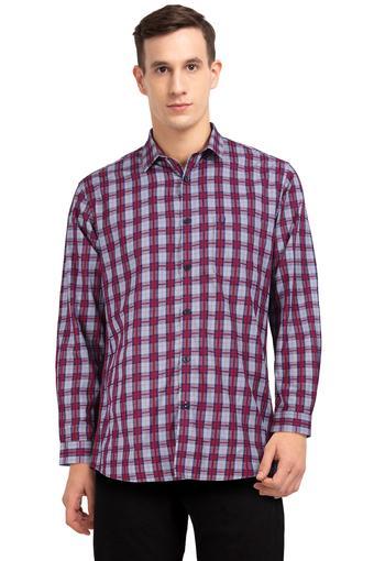 ALLEN SOLLY -  MaroonShirts - Main
