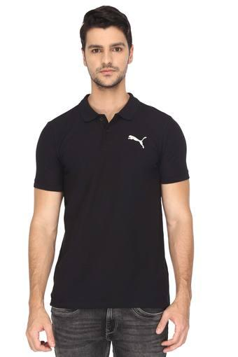 PUMA -  Black T-shirts - Main