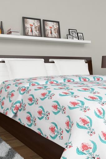 Floral Print Double Comforter