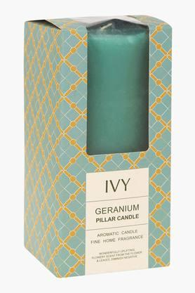 IVYGeranium Aromatic Pillar Candle - 203325769_9308
