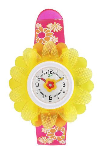 Girls Analogue Strap Watch - NKC4005PP03