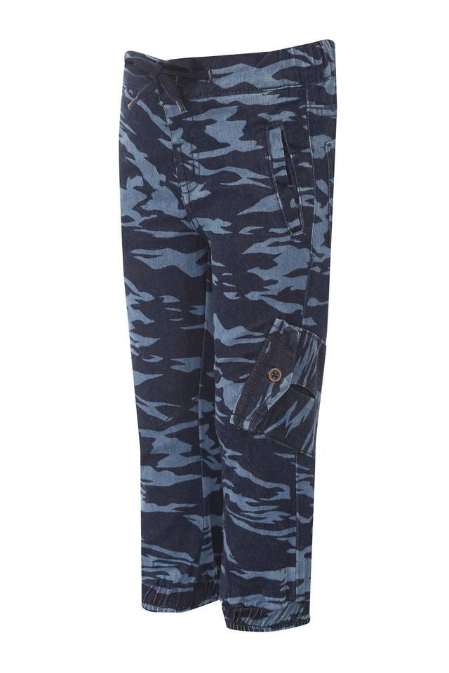 Boys 5 Pocket Camouflage Joggers