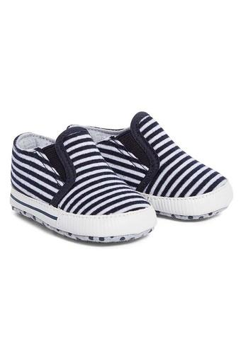 Boys Striped Casual Booties