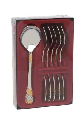 FNS Stainless Steel Soup Spoon Set Of 6