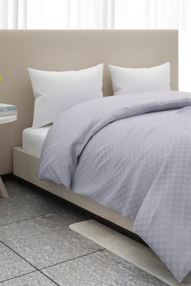 Checked Double Duvet Cover
