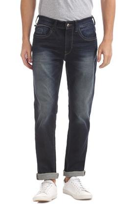 U.S. POLO ASSN. DENIMMens Slim Fit Heavy Wash Jeans