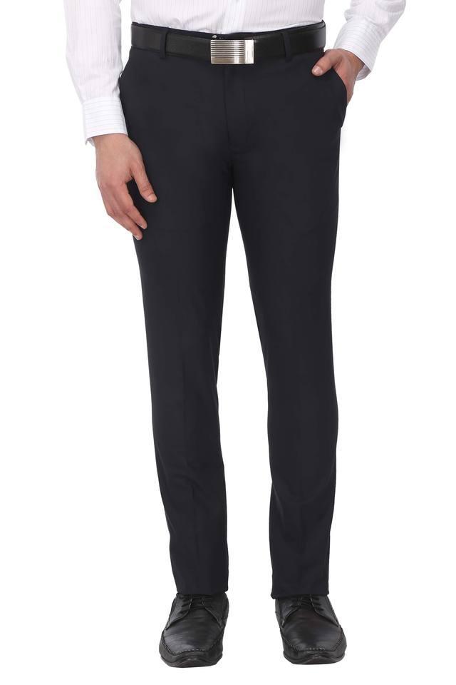 STOP - BlueFormal Trousers - Main
