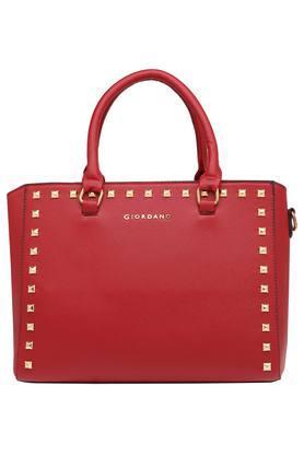 GIORDANOWomens Zipper Closure Satchel Handbag - 203977685_9308