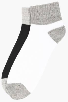 STOPMens Solid Socks Pack Of 2