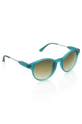 Womens Round Polycarbonate Sunglasses