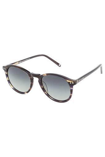 Womens Round UV Protected Sunglasses - GLS019-C041
