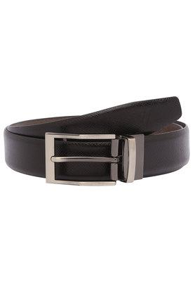 VETTORIO FRATINI Mens Leather Buckle Closure Formal Belt - 203532629_9117