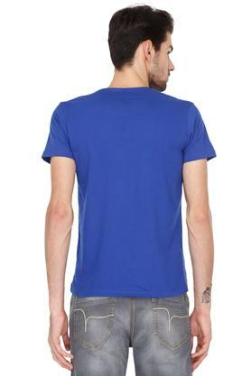Mens Round Neck Printed T-Shirt - Pack of 3