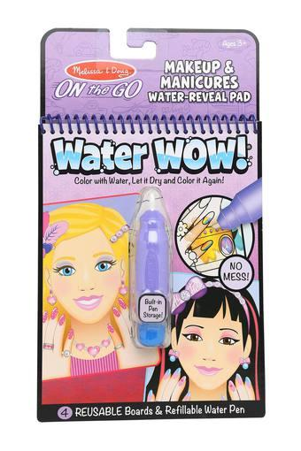 Girls Make Up and Manicures Water Reveal Pad with Refillable Water Pen