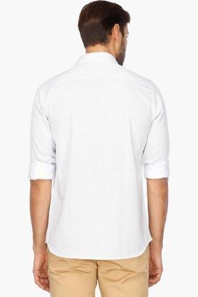 Mens Regular Collar Printed Shirt
