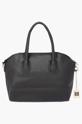 STOP Womens Zipper Closure Tote Handbag - 202722298