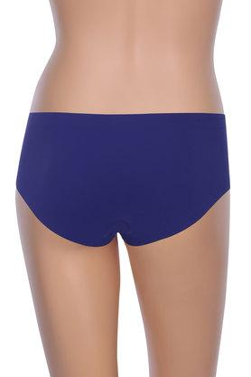 Womens Solid Boy Leg Briefs
