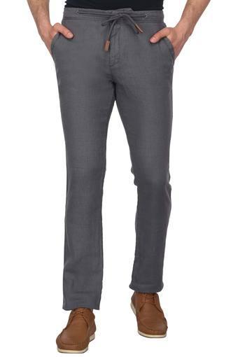 CELIO -  AnthraciteCasual Trousers - Main