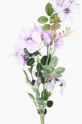 Purple Artificial Flower Stem