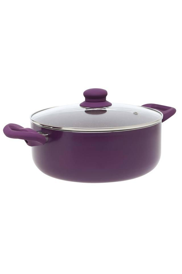 Round Solid Casserole with Lid