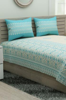 6891bb016 X IVY Printed Double Bed Sheet ...