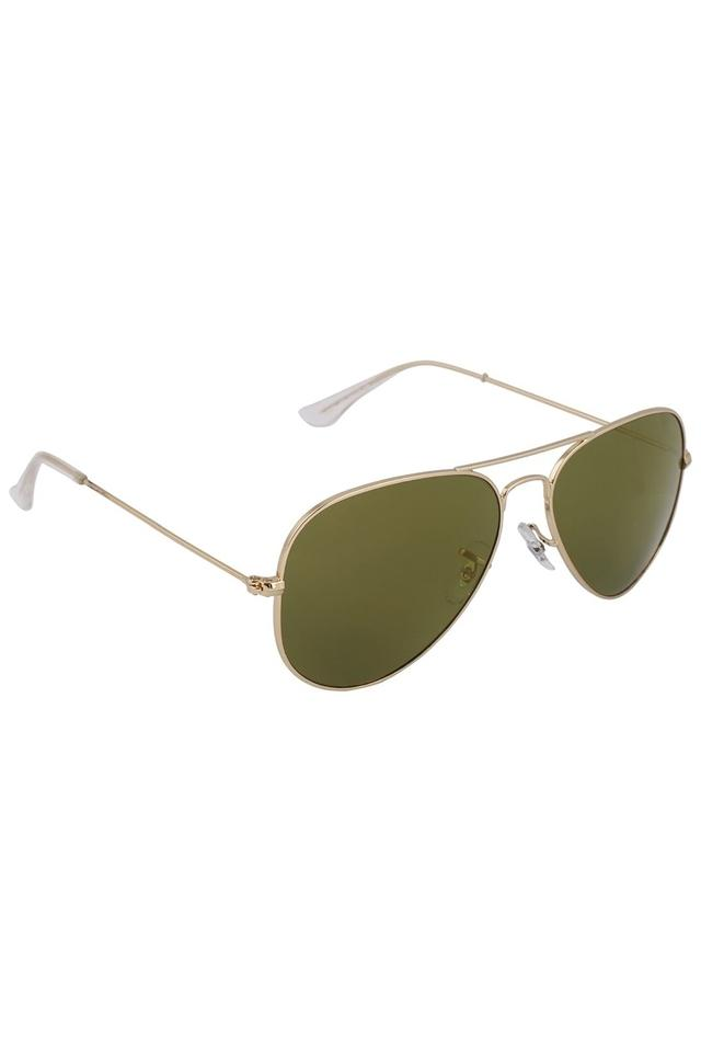 Mens Aviator Polycarbonate Sunglasses