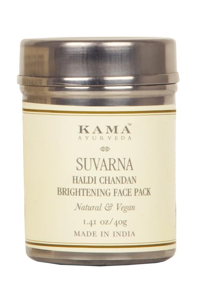 Suvarna Haldi Chandan Bright Face Pack - 40 GM